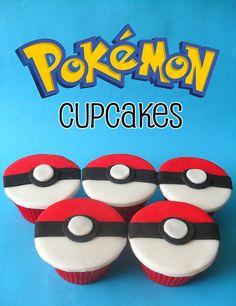 Pokemon cupcakes Pokemon Torte, Pokemon Cupcakes, Birthday Treats, 11th Birthday, Ps4 Cake, Pokemon Birthday Cake, Cake Decorating Supplies, Cupcakes Decorating, Pokemon Craft