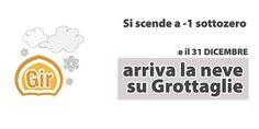 Fine d'anno sottozero: arriva la neve a Grottaglie