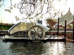 Baltimore's Water Wheel Keeps On Turning, Pulling In Tons Of Trash (via NPR)