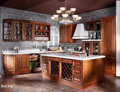 wood kitchens | Solid Wood Kitchen Cabinets
