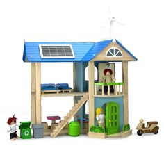 This eco-themed dollhouse instills green values into your children that'll stay with them forever.