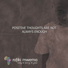 Positive thought are not always enough. Rafiki Quotes, Positive Thoughts, Positivity, Movie Posters, Movies, Film Poster, Films, Movie, Film