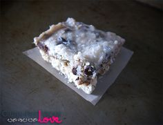 Vegan, G-Free Magic Bars ~ via Gluten-Free Vegan Love.com
