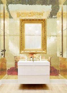 gold tiles!