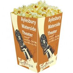 Promotional Popcorn Tubs