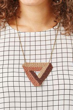 Crochet jewellery pattern | Mollie Makes 58