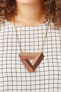 Crochet jewellery pattern | Mollie Makes 58