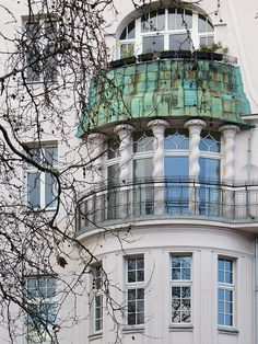 #Windows on a #Berlin residence.