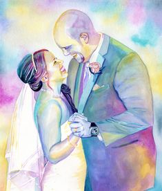 Wedding couple portrait Personalized first wedding anniversary gift Paper anniversary gift for her 1st anniversary gift Custom gift for wife First Wedding Anniversary Gift, Paper Anniversary, Anniversary Gifts For Husband, Watercolor Portraits, Couple Portraits, Paper Gifts, Wedding Couples, Pho, Drawing