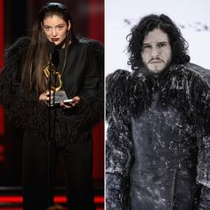 Pin for Later: Looks Like Lorde Is a Game of Thrones Fan
