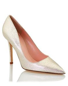 beige metallic patent shoes  http://rstyle.me/~3ucNK