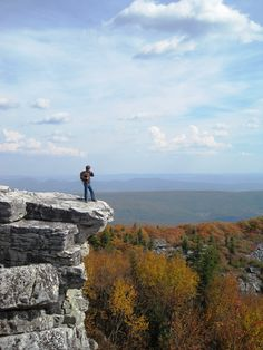West Virginia: I lived in W.Va for 9 years &  I want to see Coopers Rock near Morgantown, WV! Also here at Bear Rocks, near Dolly Sods, WV :)