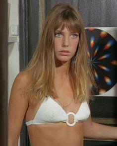 """Jane Birkin in """"La Piscine,"""" 1968"""