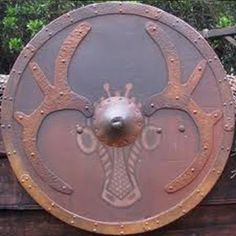 Images of Viking shields that can be used for any number of design activities.