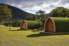 Kells Beach Camping, Kerry, Ireland — by Sherry Ott. Want to camp but don't want to mess with the tent or sleeping bags, then stay in a pod along the Ring of Kerry! Just...