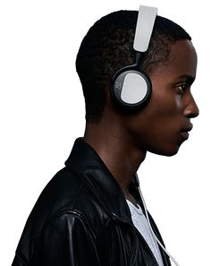 B&O Beoplay H2 Headphones with 40mm custom driver with a bass port for added low-end response, genuine lambskin ear pads, and a weight of under six ounces thanks to a durable composite frame.