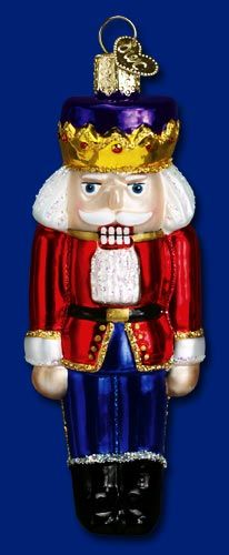 Nutcracker Prince,  Christmas Glass Ornaments  www.oldworldchristmas.com