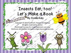 What exactly do insects eat? What are bees looking for when they fly from flower to flower? Students compare and contrast insect mouth parts and understand that an insects food is related to its type of mouth part. Everyday items are used to give students an understanding of how an insect eats. This is a great supplement to your thematic Insect unit