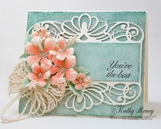 Joyfully Made Designs by Kathy Roney using Heartfelt Creations' new Under the Sea Collection of stamps, dies and designer papers