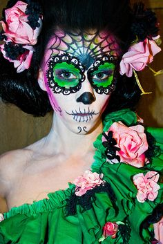 day of the dead costumes | Day of the Dead Fashion | Flickr - Photo Sharing!