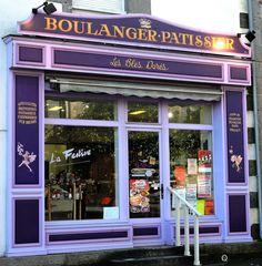 DEVANTURE BOULANGERIE LES BLES DORES PLOUBALAY