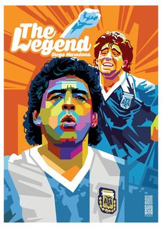 Diego Maradona by SUNGGING PRIYANTO | ArtWanted.com