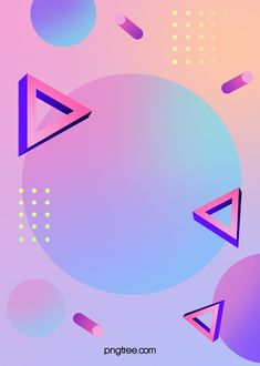 triangle,geometric,cylinder,memphis,shape,gradient,punctate,stereoscopic style,violet,background,macaron color system Poster Background Design, Background Templates, Background Patterns, Background Images, Geometric Lines, Geometric Background, Solid Geometry, Feeds Instagram, Overlays Tumblr