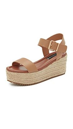 STEVEN by Steve Madden Women's Sabbie Platform Sandal, Tan Leather, 10 M US  -