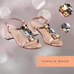 Saturday Night Bling! #VanillaMoon #Bling #Sandals #shoeworld #DLFemporio #emporio #Saturdaynight