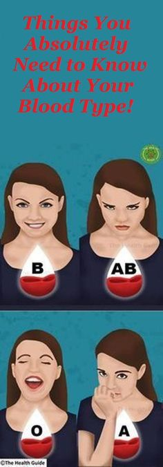 We Should All Know These 10 Things About Our Blood Type! - Scraps of My Geek Life - - We Should All Know These 10 Things About Our Blood Type! - Scraps of My Geek Life Health And Beauty, Health And Wellness, Health Care, Health Fitness, Herbal Remedies, Health Remedies, Natural Remedies, Different Blood Types, Don Du Sang