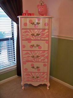 Vintage Painted Cottage Shabby Furniture French by TraceysFancy, $660.00