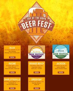 Top of the Hops Beer Fest in C'ville's Pavillion!