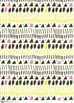 GIFT WRAP - leah duncan akes inspiration from the surrounding landscape, and also her native american roots to create a delicate folk-meets-modern world