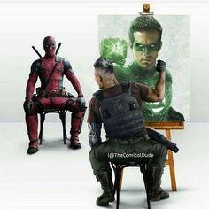 Okay #Deadpool2 #cable #marvel #Deadpool #greenlantern #RyanReynolds #funny #geek #nerd #comics #geeklyshirts #tshirt