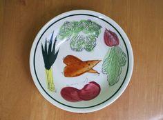 Lovely Vintage 1950s Ceramic Vegetable Bowl Made by retrowarehouse