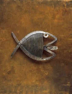 "cgmfindings: "" Brooch | Alexander Calder Silver and steel wire. c. 1940 """