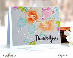 This is Virginia here! I am here to share my cards with some simple hand-stitching! We all love handmade cards with unique touches. The color-layering stamps Hibiscus… Penny Black, Card Making Inspiration, Making Ideas, Hibiscus Bouquet, Hibiscus Flowers, Mini Albums, Altenew Cards, Pretty Cards, Copics