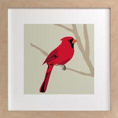 Cardinal    www.minted.com by Faye Femister