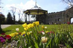 Spring Reigns - castle garden Newark On Trent, Reign, Castle, Spring, Garden, Garten, Lawn And Garden, Castles, Gardens
