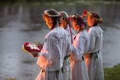 Kupala Night in Russia Every year Russia celebrates the oldest Slavic holiday, the Kupala Night.