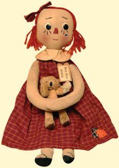 Boo Boo Annie Doll