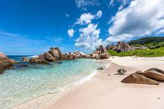 Seychellen Strände – das sind die TOP 5 mit WOW-Effekt: Anse Marron, La Digue  #seychellen #paradise