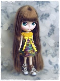 OOAK Blythe Dress Pullip Dal Pure Neemo Licca Basaak Blybe CCE