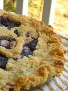 Best Blueberry Pie with Foolproof Pie Dough