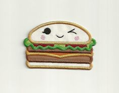 Happy Burger Patch Custom Made