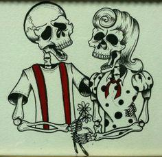 Rockabilly Dia de los Muertos?