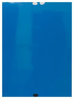 Gary Hume Anxiety and the Horse. Yes We Can, 2011 Enamel on aluminum 53 x 38 ½ inches; 135 x 98 cm Gary Hume, Wassily Kandinsky, Contemporary Artists, Anxiety, Enamel, Palette, Horse, Walls, Blue