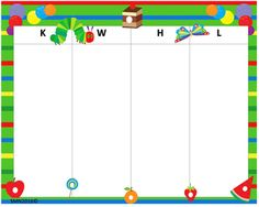 KWHL Table Very Hungry Caterpillar 30x24 Very Hungry Caterpillar, Tables, Mesas, Hungry Caterpillar