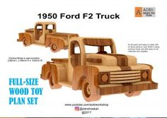 1950 Ford F2 Truck Plan Set