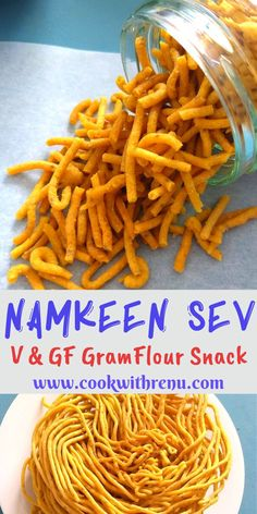 Besan ke Namkeen Sev is a gluten free fried tea time snack generally made during Diwali celebrations in India. Highly addictive and goes well on chaats too. Healthy Appetizers, Appetizer Recipes, Snack Recipes, Side Recipes, Dairy Free Recipes, Vegetarian Recipes, Gluten Free, Vegetable Recipes, Healthy Recipes